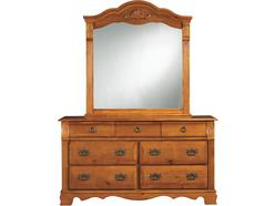 Sugar Palms Dresser & Mirror