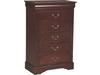 Lewiston 5 Drawer Chest - Additional View