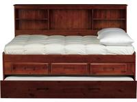 Forrester Full Bookcase Trundle Bed