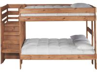 Cabin Retreat Full/Full Stairchest Bunkbed