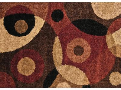 "5'3"" x 7'6"" area rug is made of 100% olefin. Sh..."