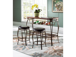 Atwood Bar Table & 2 Stools