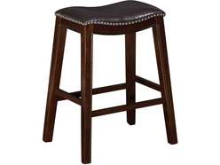 Saddle Creek Brown Barstool