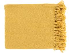 Thelma Gold Throw Blanket