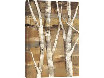 Wandering the birches I is a gallery wrapped ca...