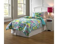 2 Pc P. Pansy Twin Linens