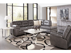 Paxton Grey 2 Pc Sectional