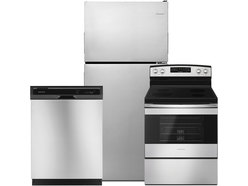 Amana 3 Pc Ss Top Mount  Appliance Package