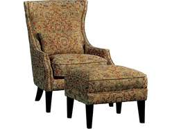 Cambridge Accent Chair & Ottoman