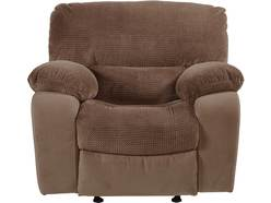Cozy Chocolate Glider Recliner