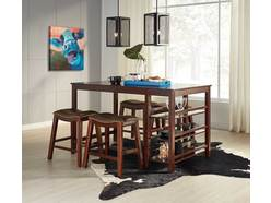 Saddle Creek 5pc Counter Dining Set