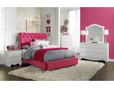 Penelope 5pc Twin Upholstered Bedroom