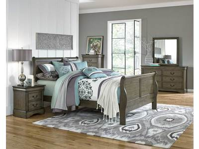 The Lewiston Grey Collection brings a soft, com...