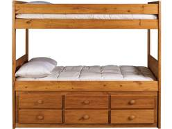 Cabin Retreat Full/Full Bunk Bed