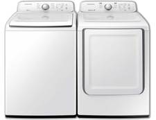 Samsung Top Load Washer & Dryer Pair