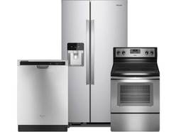 Whirlpool 3 Pc Stainless Steel Package