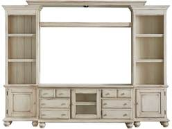 "Mount Holly 4pc Media Center W/ 58"" Console"
