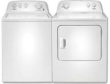 Whirlpool Top Load Washer & Dryer Pair