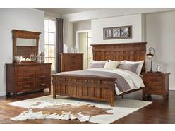 New Foundry 5 Pc King Bedroom Group