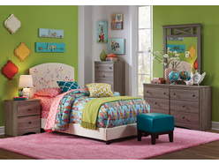 Carla 5 Pc Full Youth Bedroom Group