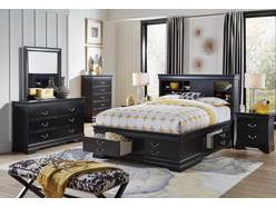 Carrington II 5 Pc King Storage Bedroom Group