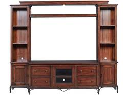 "Canton Heights 4 Pc Media Center W/ 58"" Console"